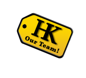 HK-SW Logo with 'Our Team!' text