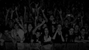 Crowd @ rock concert