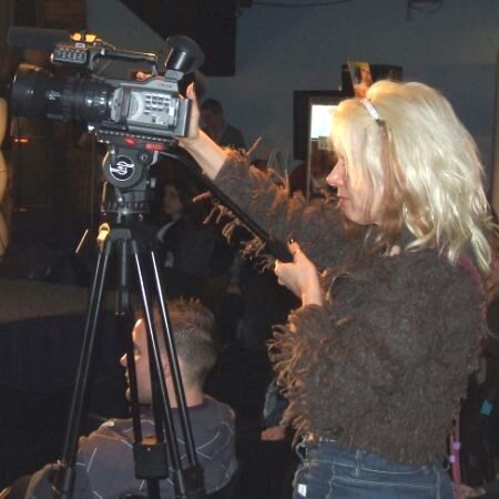 Angie Timmer, our camera lady